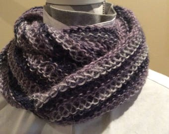 winter Hand knitted infinity scarf