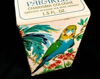 Avon Island Parakeet Charisma Cologne Box Only!