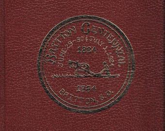 Britton Centennial (South Dakota) 1884-1984 Hardcover 1984