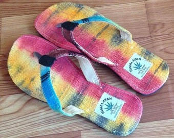 Colorful Pure Hemp Eco Friendly Sandals