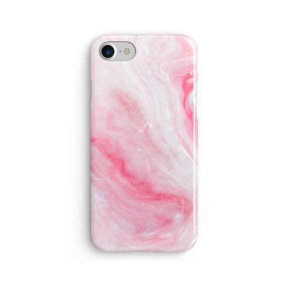 Pink liquid marble  iPhone X case - iPhone 8 case - Samsung Galaxy S8 case - iPhone 7 case - Tough case 1P057