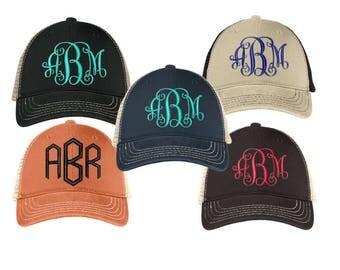 Custom/Ladies/Womens/Embroidered/Monogrammed/Cap/Mesh Back/High Quality