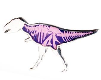 Dinosaur Skeleton Brooch
