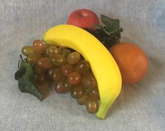 Vintage 1970s Plastic Fruit, Artificial Fruit