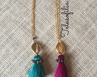 Mexican Tassel Necklace
