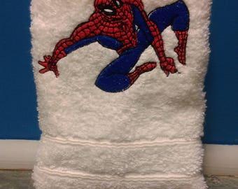 spiderman machine embroidery design 2 sizes 4x4,5x7