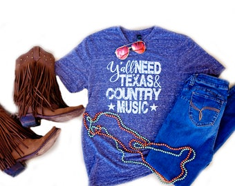 NEW // Limited Edition // Texas  // Y'all // Country Music  // George Strait // UNISEX