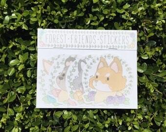 Forest Friends - Sticker Pack