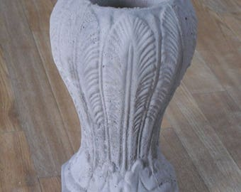 Cement Vases, Vases, Memorial Vase, Patio Vase, Home Decor Vase, Gravesite Vase, Cement Planter