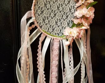 Pretty in Pink Dream Catcher