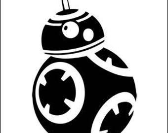 Star Wars BB8 decal