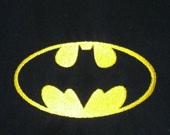 Batman Signal Embroidered T-Shirt or Hat