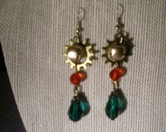 Gear Up Holiday Earrings