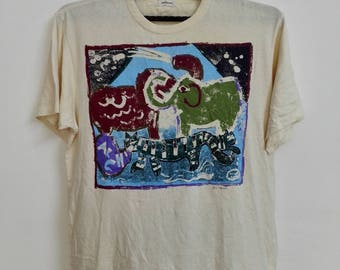 Vintage Men Melrose tshirt Size Large