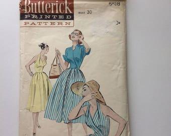 Butterick 6518