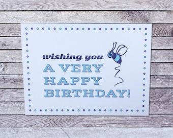 Hornet Birthday Card