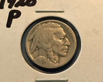 1928 P Buffalo Nickel • #316