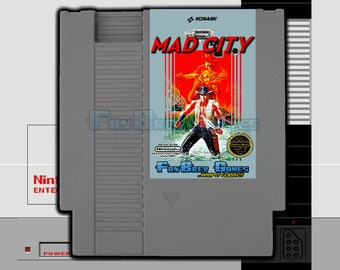 "SPECIAL ORDER! ""Mad City"" English Translation of Famicom ""Bayou Billy"" Nintendo NES, Easy Version!"