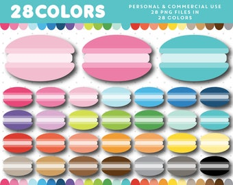 Macaroon clipart, Macaroons clip art, Macaron clipart, Dessert clipart, Pastry clipart, Macaroon graphics, French macaroon, CL-1643