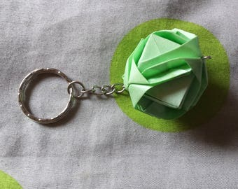 key modular origami green water