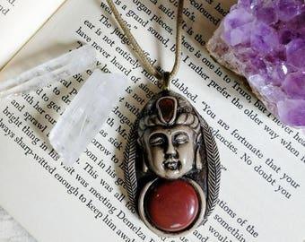 Red Jasper Buddha.