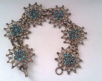 nouveau style silver coloured bracelet