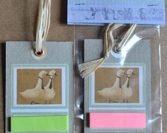 Tags shown with sticky notes.