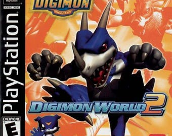 Digimon World 2 PS1 Great Condition Fast Shipping