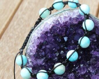 hemimorphite Beads Bracelet