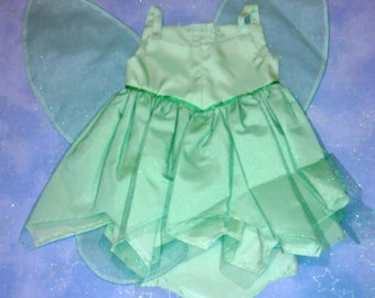 Tinkerbell dress for American Girl and My Generation