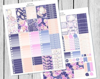 40% OFF Jet Setter Planner Sticker Printable / Spring Planner Stickers / Printable Planner Stickers / Weekly Planner Sticker Kit/ Travel Sti