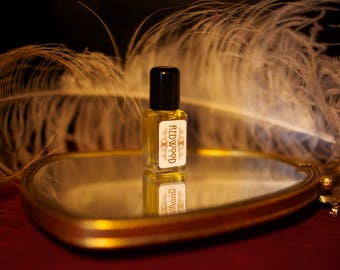 LIMITED EDITION REDWOOD perfume - natural perfume oil with Moss, Wood, Pine, Fern Smoke Cedar by Theater Potion