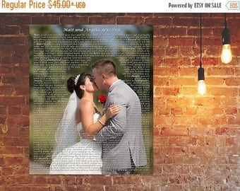 Summer SALE His and hers vows 3rd anniversary gift for husband