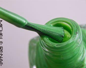 Lime Green Indie Nail Polish 'Summer Lime' Nail Lacquer 5 Free Custom Nail Art Nail Color