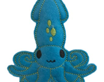 Catnip Toy - Blue Octopus