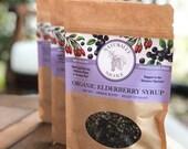 Organic Elderberry Syrup Premium Kit