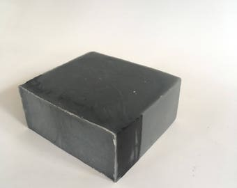 Scented Charcoal & Aloe Soap- Mens Soap- All Natural- Handmade In Hawaii