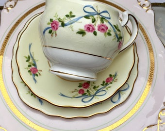 The Prettiest Roses, Ribbons & Bows Vintage Colclough Creamer