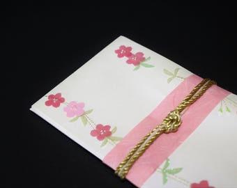 """48.Mizuhiki envelopes This envelope is used for each celebration. A special envelope called """"noshibukuro"""""""