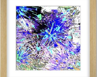Original - digital art- abstract art - abstract print - painting abstract - Fine art - Signed - Not framed - Anachrys.