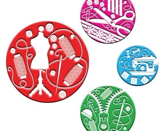 A pack of 4 Patternweights Ideal for holding Patterns onto fabric