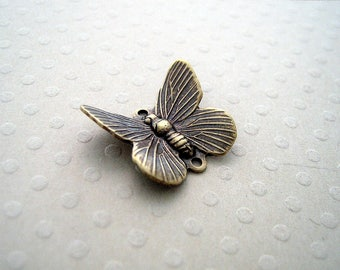 Butterfly connector bronze 12 x 16 mm - CB-0571