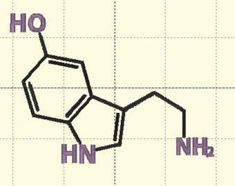 Serotonin Embroidery File