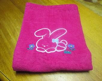 Towel Fuchsia 100% cotton, hydrophilic 400 g/m2