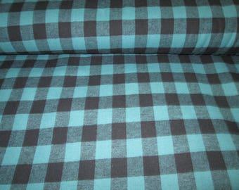 Flannel green caroter lumberjack flannel fabrics