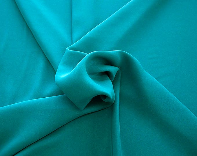 305095-Crepe marocaine Natural Silk 100%, width 130/140 cm, made in Italy, dry cleaning, weight 215 gr