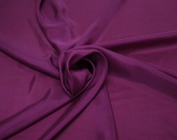 402139-taffeta natural silk 100%, width 110 cm, made in India, can be used liner, dry wash, weight 58 gr