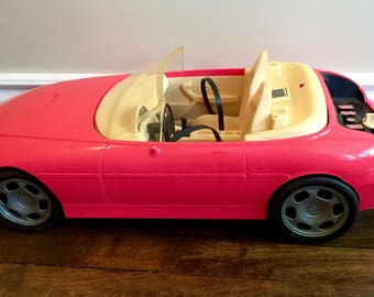 Dollhouse furniture etsy for Motorized barbie convertible car