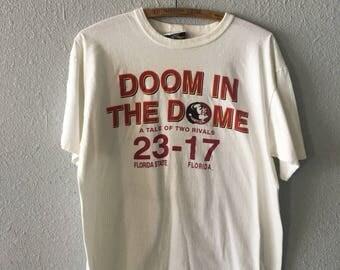 1994 FSU Seminoles Versus UF Gators Vintage 1990's 90's Florida State University V. University of Florida T Shirt
