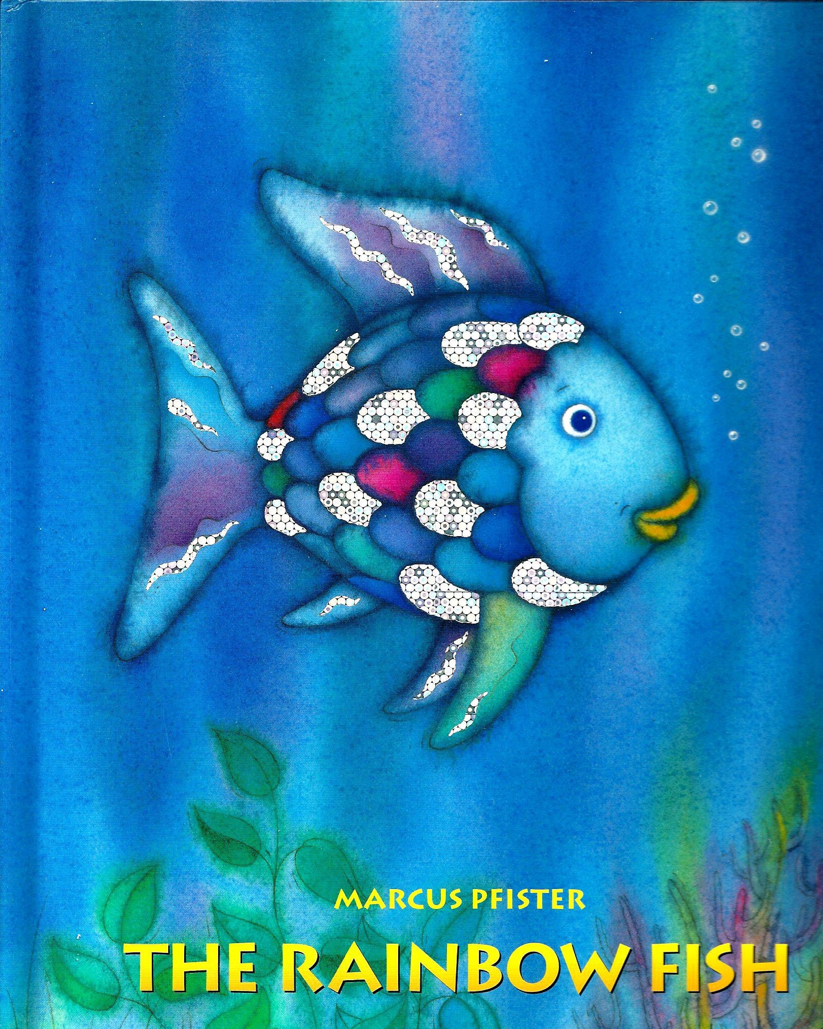 The rainbow fish hardback book by marcus pfister for Rainbow fish fabric